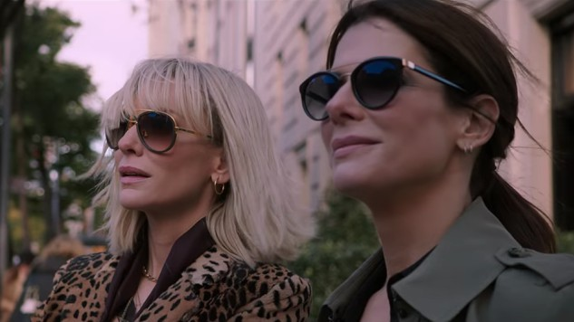 The New <i>Ocean's 8</i> Trailer Melds Glamour and Danger in a Whole New Way