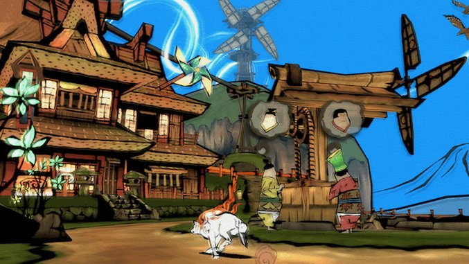 <i>Okami HD</i> Coming to Playstation 4, Xbox One and PC