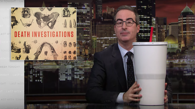 John Oliver Takes on Our Broken Death Investigation System on <i>Last Week Tonight</i>