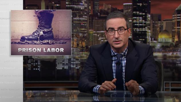 John Oliver Breaks Down Inhumane Prison Labor Wages in Latest <i>Last Week Tonight</i>