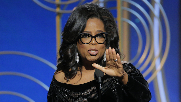 Oprah Announces She's Not Running For President After All
