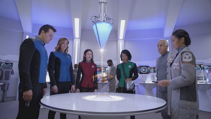 <i>The Orville</i> Is a Middling <i>Star Trek</i> Homage with Dick Jokes and Big Ideas