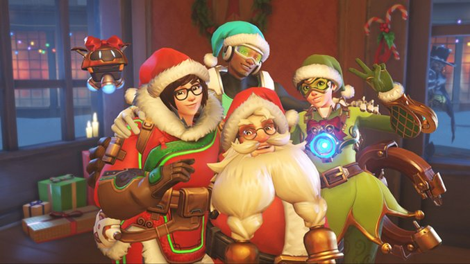 The Character Skins Of <i>Overwatch</i>'s Winter Wonderland Event