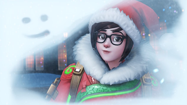 Overwatch's Returning Holiday Events Has a Team of Meis Fighting a Yeti Winston