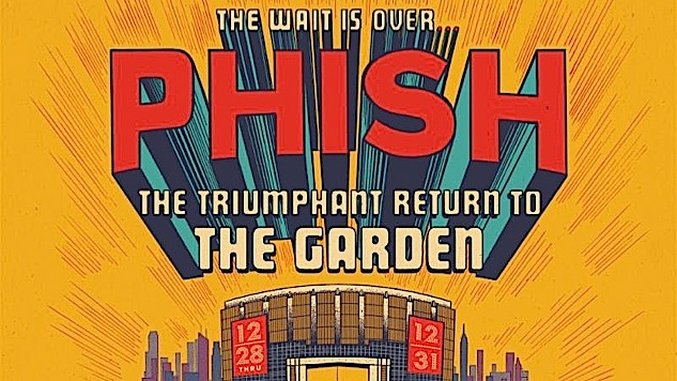 Phish announce four night new year 39 s run at madison square - Phish madison square garden tickets ...