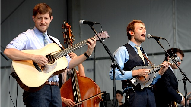 "Today in Rock: Listen to Punch Brothers Cover Beck's Funked-Up ""Sexx Laws"""