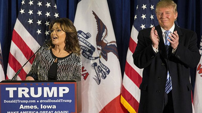 The Funniest Palin/Trump Tweets