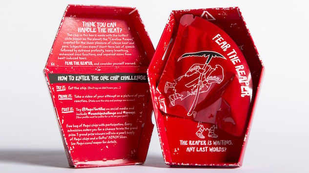 Spiciest Tortilla Chip in The World Sold One at A Time