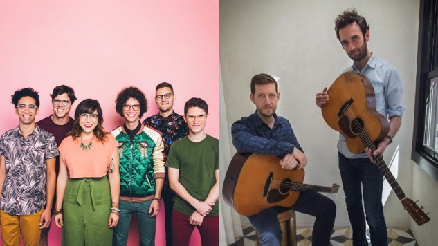 Streaming Live from <i>Paste</i> Today: Sweet Crude, Julian Lage & Chris Eldridge