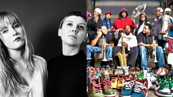 Streaming Live from <i>Paste</i> Today: Gracie & Rachel, The Soul Rebels