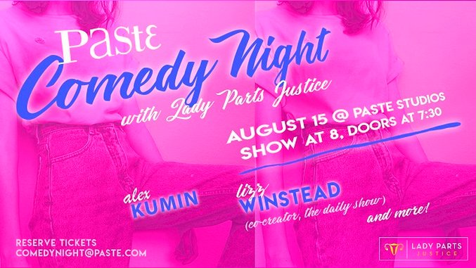Watch Comedy from Lady Parts Justice and Lizz Winstead in the Paste Studio Tonight at 8 PM
