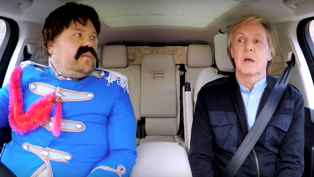 Watch Paul McCartney Drive Down Memory Lane in Liverpool on James Corden's <i>Carpool Karaoke</i>