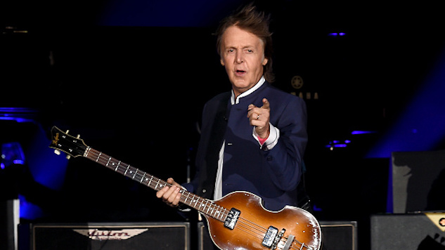 "Listen to Paul McCartney's Smirk-Worthy New Single, ""Fuh You"""