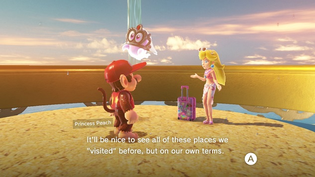 Princess Peach S Odyssey Travel Is Dangerous If You Aren T A