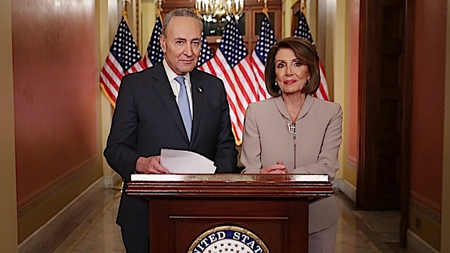 Pelosi and Schumer Played by Trump's Rules in Their Rebuttal; Bernie Sanders Did Not