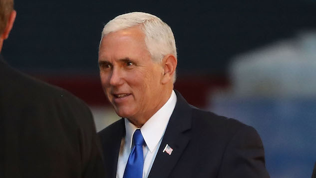 Mike Pence Spent Six Figures Worth of Taxpayer Dollars on His Little NFL Walkout
