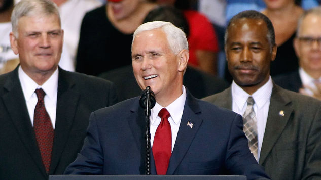 Mike Pence's Detail Brought Women Back to Their Hotel in Panama