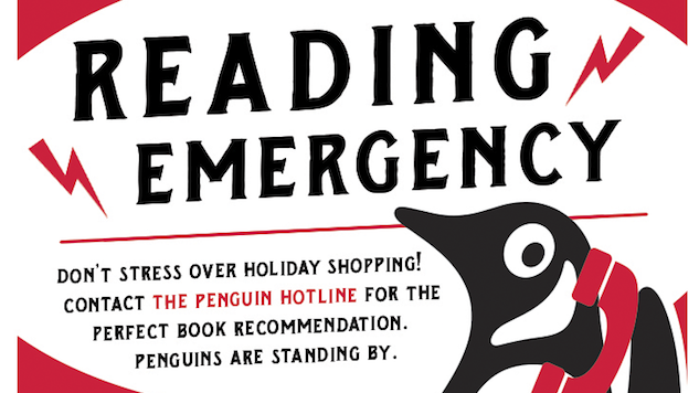 Penguin's Book Recommendation Hotline Returns