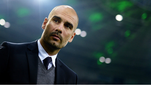 Pep Guardiola: A Career in Pictures