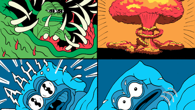 Pepe the Frog Creator Matt Furie Pens New Comic Showing Pepe's Alt-Right Nightmare