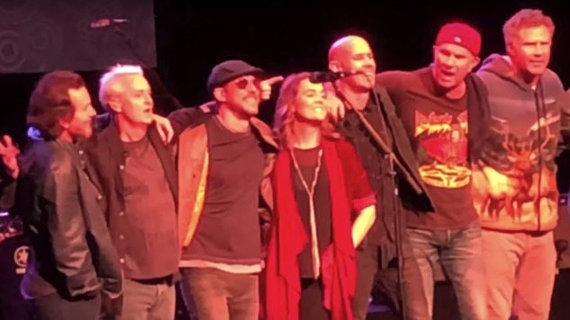 Watch Eddie Vedder, Will Ferrell, Chad Smith and Brandi Carlile Cover Depeche Mode