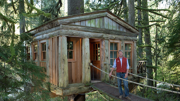 Treehouse Masters' Pete Nelson on Building His High-Off-the