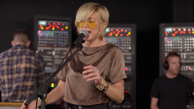 "Exclusive: Watch Phantogram Reimagine ""Calling All"" With Analog Synths at Moog Sound Lab"