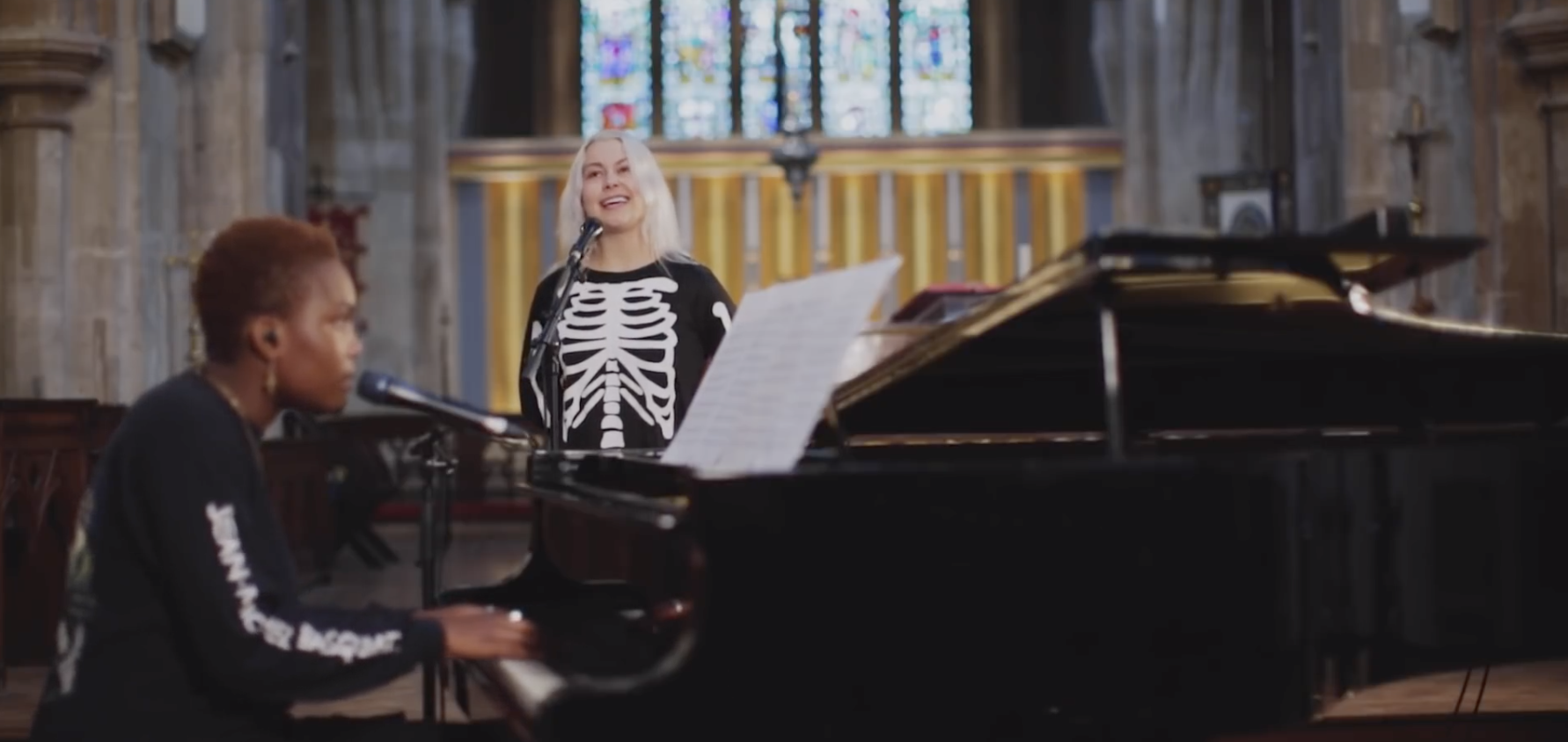 """Watch Phoebe Bridgers and Arlo Parks Perform """"Fake Plastic Trees"""" and """"Kyoto"""""""
