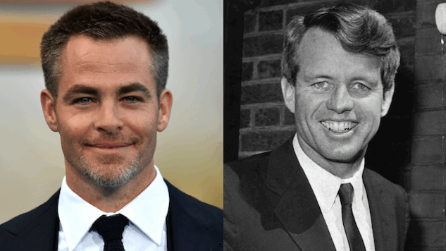Chris Pine to Portray RFK in Hulu Limited Series