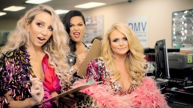 "Pistol Annies Throw a Party at the DMV in ""Got My Name Changed Back"" Music Video"