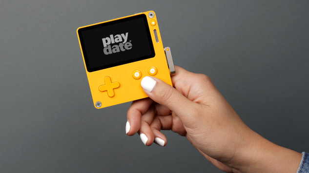 Get Cranky with Playdate, a New Handheld Game System Coming Early Next Year