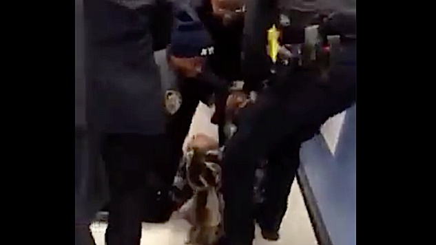 Video NYC Police Tore A Womans One Year Old Son From Her Arms