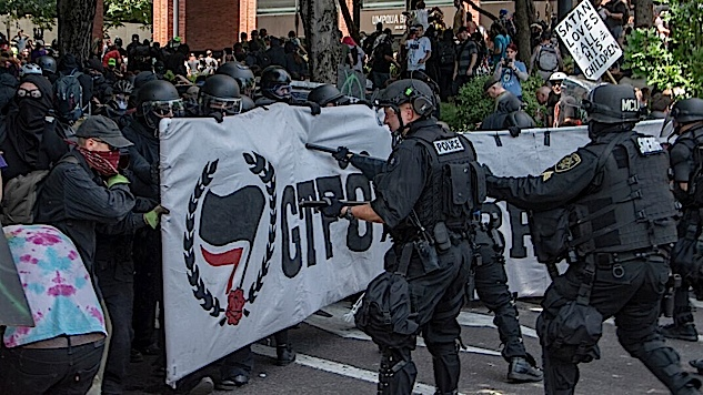 In Portland, the Police Played Into the Hands of the Fascists and Attacked Their Own Citizens