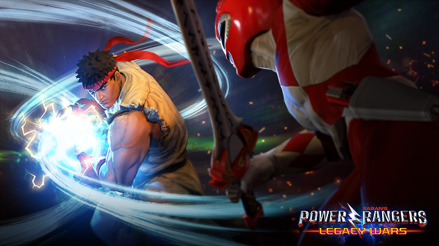 Latest Power Rangers Mobile Update Includes Street Fighter Characters