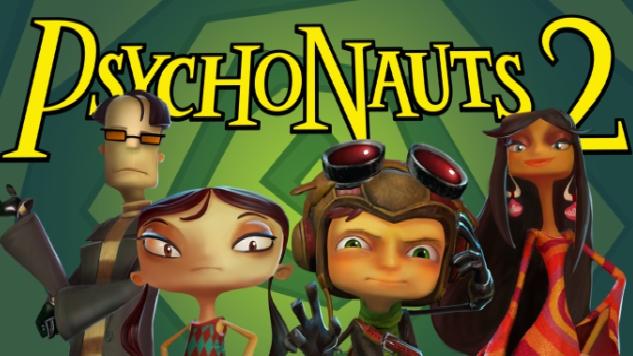Double Fine Announces <i>Psychonauts 2</i> Publisher, Shows Off Test Footage