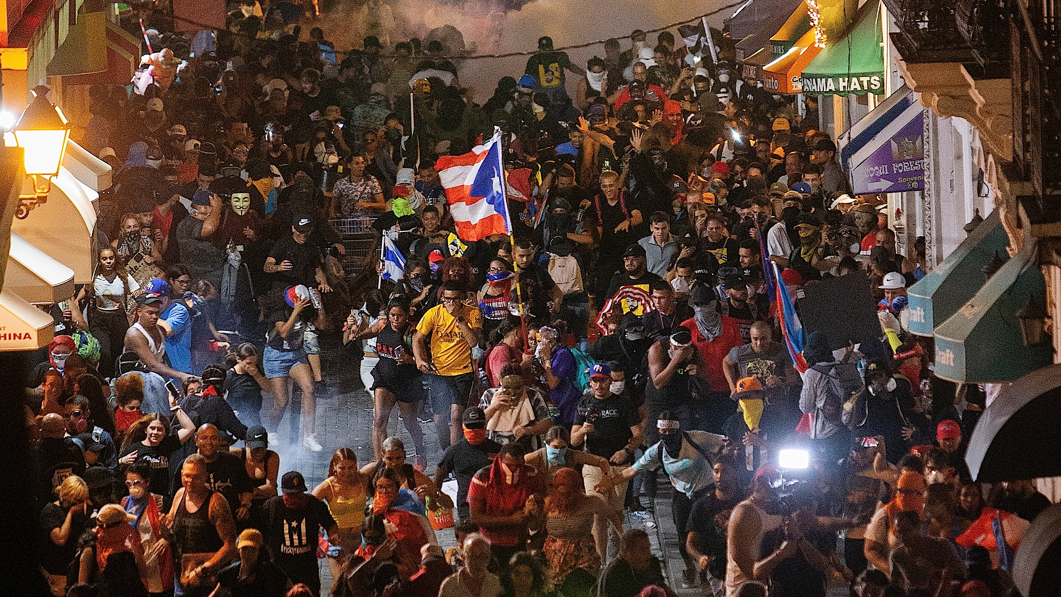 In Puerto Rico, Hundreds of Thousands Take to the Streets in Protest