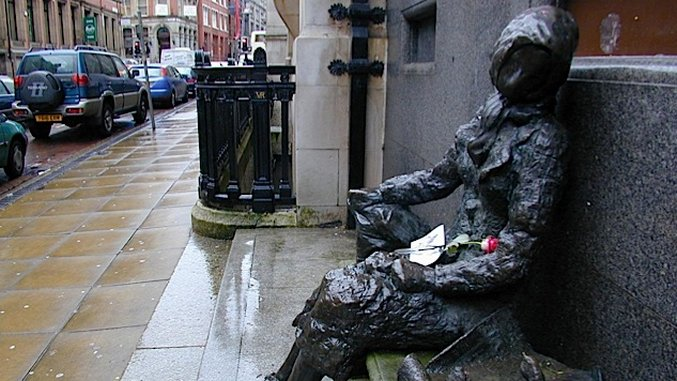 Eleanor Rigby's grave for sale, made famous in Beatles song