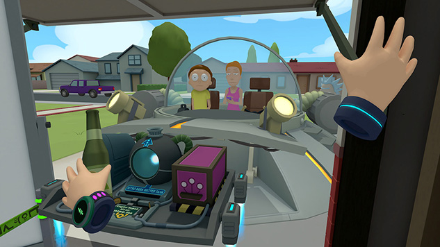 <i>Rick and Morty: Virtual Rick-ality</i> Is Coming to PS4 in April