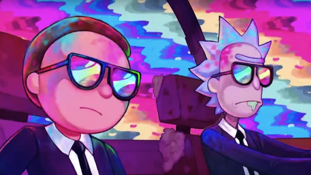 "<i>Rick and Morty</i> Get Their <i>Pulp Fiction</i> on in Run The Jewels' Vivid ""Oh Mama"" Video"