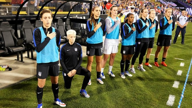 Some Notes On The Fallout From Megan Rapinoe's Protest For The USWNT