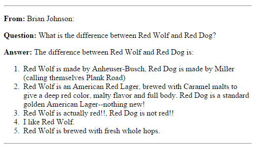 Whats the differences between Dogs and Wolves?