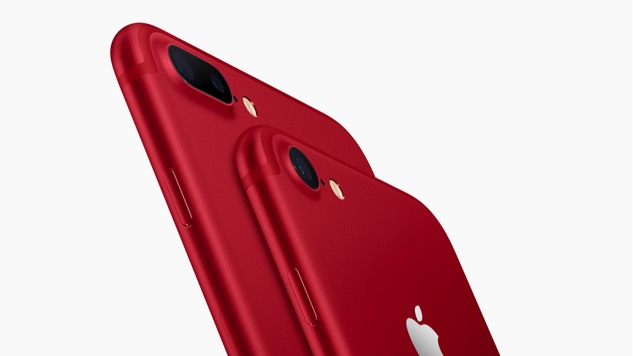 Apple Debuts Red iPhone 7 & iPhone 7 Plus