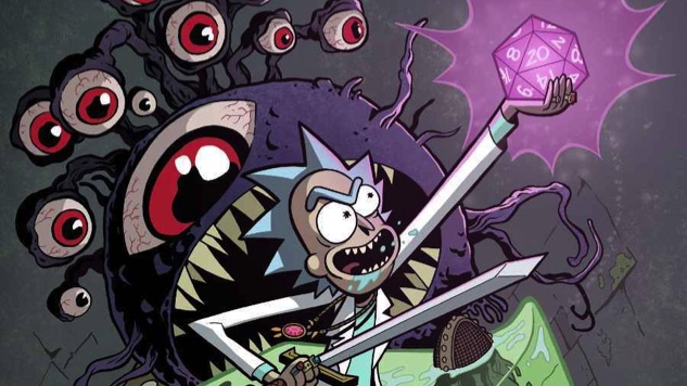 <i>Rick and Morty</i> Meets <i>Dungeons & Dragons</i> in New Crossover Comic From Oni Press, IDW Publishing