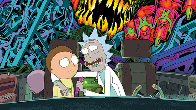 Sub Pop, Adult Swim Releasing <i>Rick and Morty</i> Soundtrack as Double Album in September