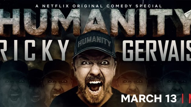 Netflix Releases the Scathing Trailer for Ricky Gervais' First Stand-up Special in Seven Years
