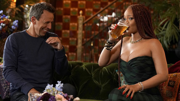 What We Learned from Rihanna Day-Drinking with Seth Meyers