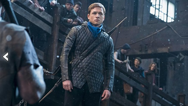 See Lionsgate's Taron Egerton-Starring <i>Robin Hood</i> and the Rest of His Merrymen This Thanksgiving