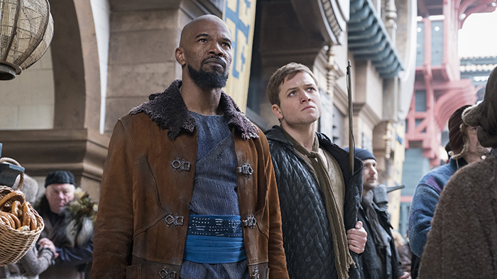 Watch the First Trailer for <i>Robin Hood</i>, Starring Taron Egerton and Jamie Foxx
