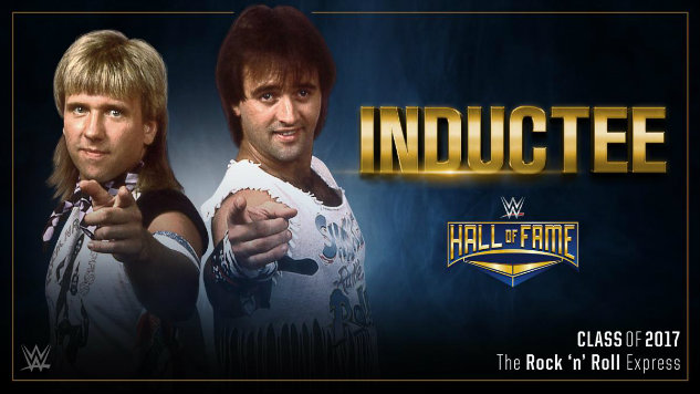 Image result for the rock n roll express wwe hall of fame