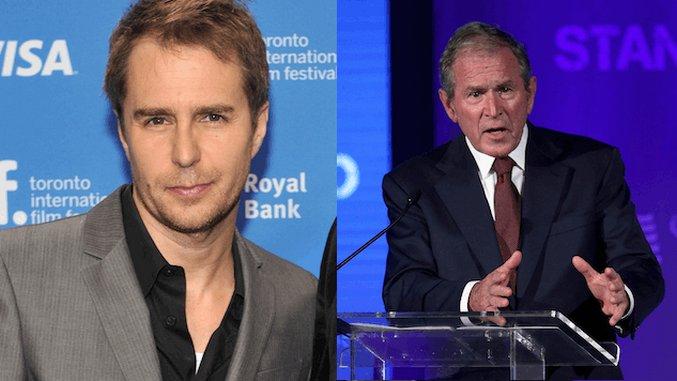 Sam Rockwell Cast as George W. Bush in Adam McKay's <i>Cheney</i> Biopic
